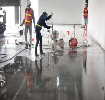 epoxy floor coating contractors near me