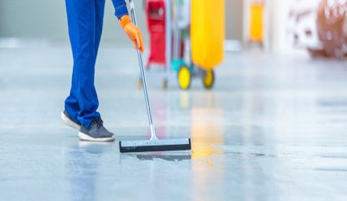 epoxy clear coat for industrial floor