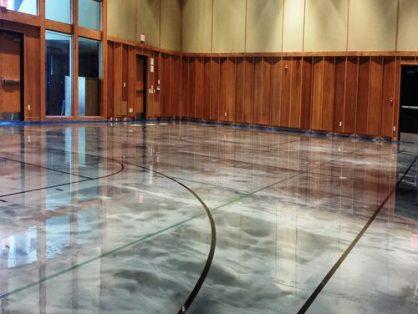 metallic floor epoxy